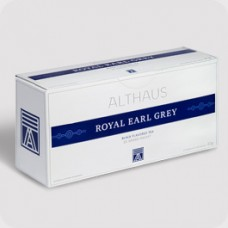 Чай черный в пакетиках для чайника Althaus Royal Earl Grey (Альтхаус Ройал Эрл Грей), 20*4 г
