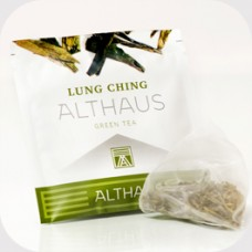 Чай зеленый в пирамидках Althaus Lung Ching (Альтхаус Лунг Чинг), 15 шт.*2,75 г.