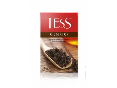 Чай черный листовой Tess Sunrise (Тесс Санрайз), 200 г