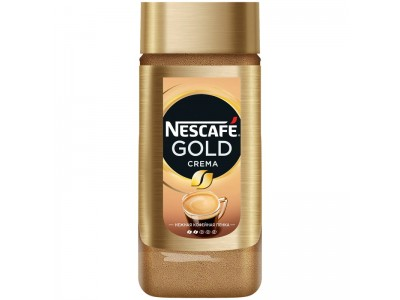 Кофе растворимый Nescafe Gold Crema, банка, 95 г