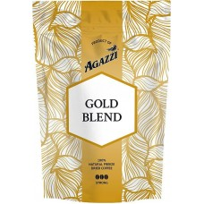 Кофе растворимый Agazzi Gold Blend Strong, 95 г