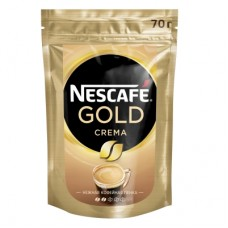 Кофе растворимый Nescafe Gold Crema, м/у, 70 г