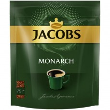 Кофе растворимый Jacobs Monarch, м/у, 75 г