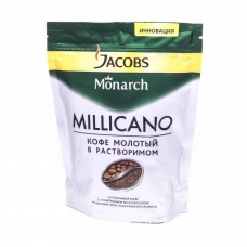 Кофе растворимый Jacobs Monarch Millicano, м/у, 150 г