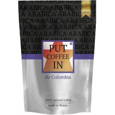 Кофе растворимый PUT coffee IN de Colombia, 75 г